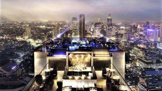 バンコク観光旅行は『ヴァーティゴ&ムーンバー』(Vertigo & MOON BAR)の高級ホテルバンヤンツリーバンコクへ