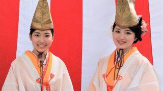 大阪・今宮戎の「福むすめ」vs チェンマイの踊り子「タイむすめ」は超カワイイ!
