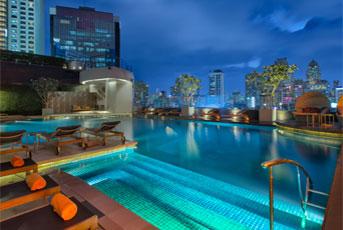 タイ バンコク ホテル ルーフトップバー