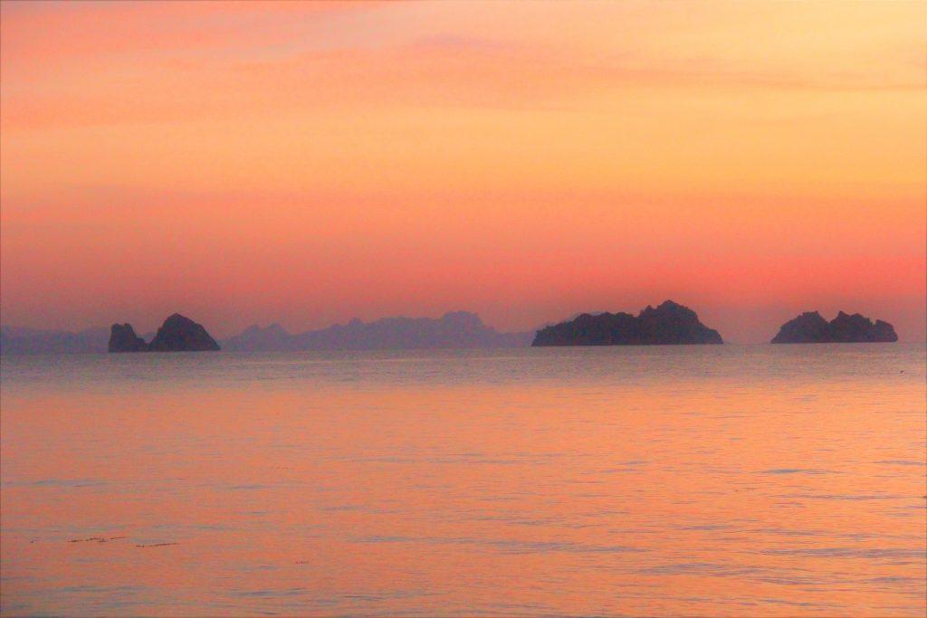 サムイ島 夕暮れ