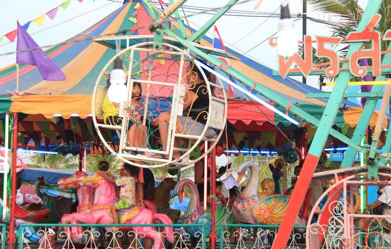 シーラーチャー 遊園地 タイ