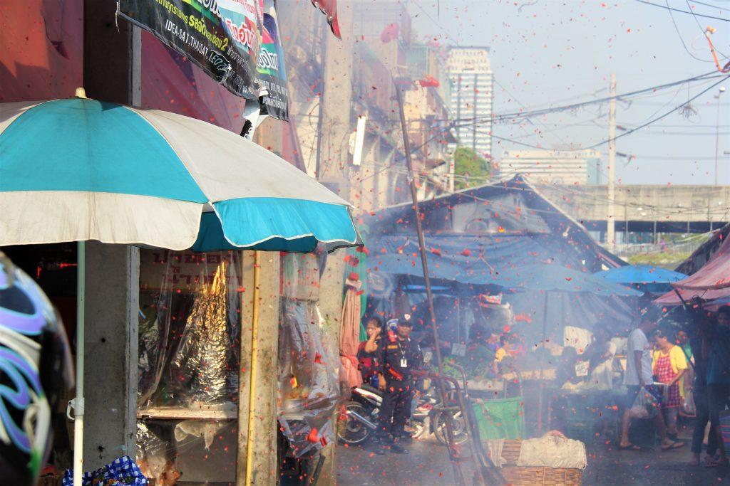 タイ 観光 旅行  バンコク 超穴場 クロントゥーイ 市場 ディープ スポット 美人 奥様