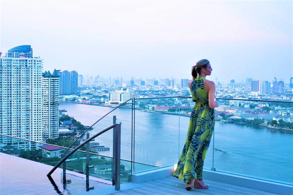 絶景 プール ルーフトップバー アヴァニ リバーサイド バンコク ホテル バンコク おすすめ 高級ホテル ATTITUDE アティテュード AVANI Riverside アナンタラ Anantara