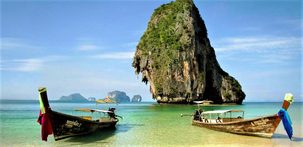 タイ クラビ 人気 観光スポット 旅行 ランキング プラナンビーチ アオナンビーチポダ島 タップ島 チキン島