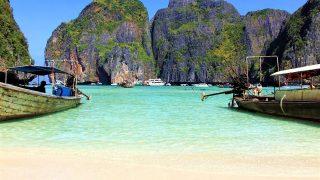 中国人観光客の殺到でタイのビーチ「ピピ・レイ島」閉鎖